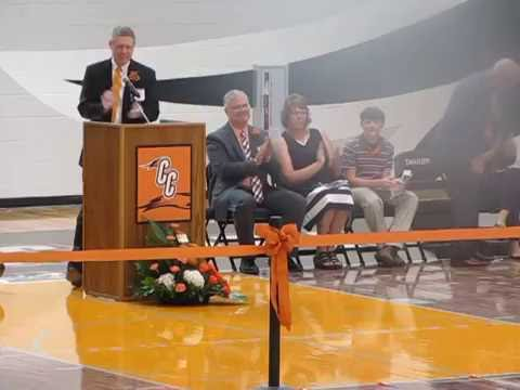 Watch the entire CCMS Grand Opening and Ribbon Cutting