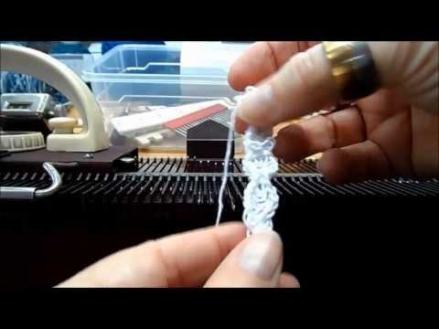Strickschlauch, Strickkordel mit der Strickmaschine Knittax M2