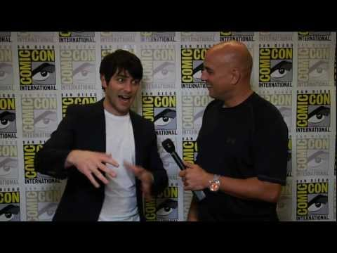 chuckthemovieguy - Chuck the Movieguy interviews David Giuntoli who plays Nick Burckhardt in the awesome NBC series Grimm. Recorded at Comic Con 2011.