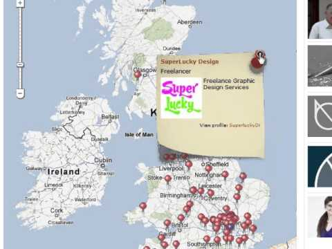 Search for freelancers in the UK who have pinned their freelance consultancy to our freelance map.
