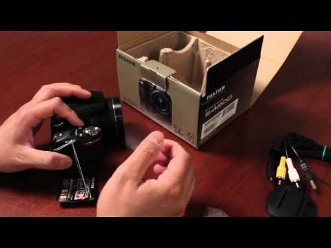 Fuji Guys - FinePix S Series 2012 Part 2 - SL240 SL280 SL300 - Unboxing & Getting Started