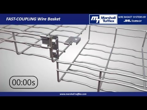 Marshall-Tufflex Fast Coupling Wire Basket Systems
