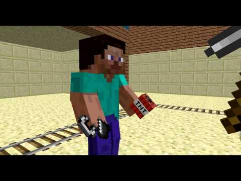 [Minecraft Animation] The Pickaxe