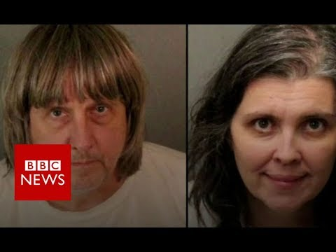 California: Shackled siblings parents arrested - BBC News (видео)