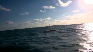 "AutoNaut ""Gordon"" leaving Isles of Scilly"