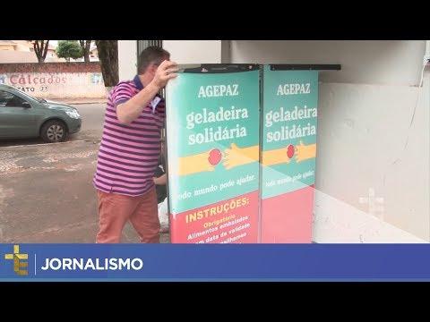 JORNALISMO | GELADEIRA SOLIDÁRIA MOVIMENTA PARÓQUIA EM CURITIBA
