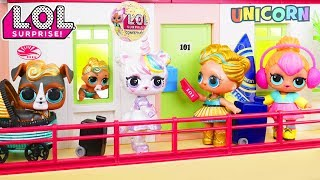 Video Custom LOL Surprise Dolls Play at Playmobil Hotel MP3, 3GP, MP4, WEBM, AVI, FLV Juni 2018