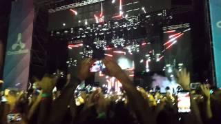 DAVID GUETTA intro, Creamfields Buenos Aires 2014 - 4K