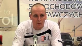 Konferencja po meczu Nbit Gliwice – Heiro Rzeszów