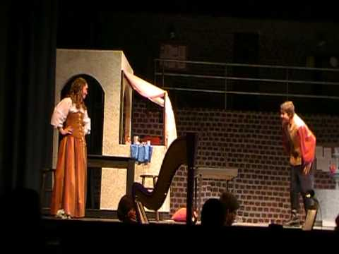"Adair Arciero & Tanner Agle perform ""Fight Scene"" in musical, ""Kiss Me Kate"""