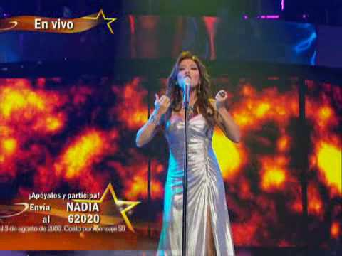 Nadia canta - El Aprendiz - Gran Desafío
