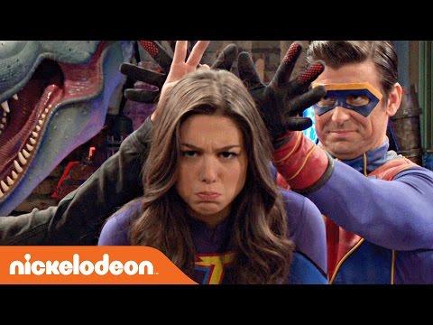 Danger & Thunder | Fortune-Teller Superhero Challenge 🔮 | Nick