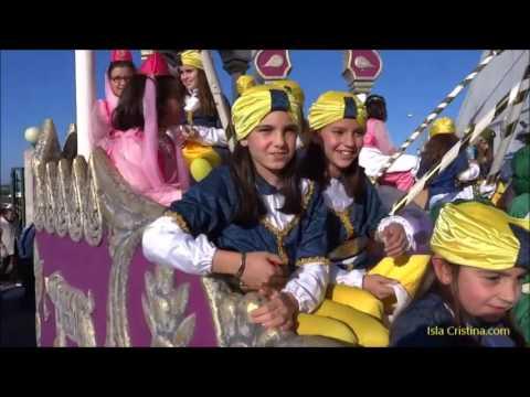Cabalgata de SS. MM. los Reyes Magos. Isla Cristina