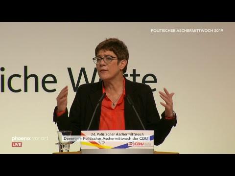 Politischer Aschermittwoch der CDU am 06.03.19