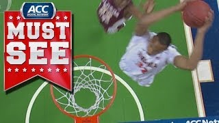 Atkins (VA) United States  city photo : Virginia's Darion Atkins Thunderous Follow Jam | ACC Must See Moment