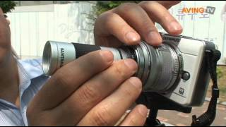 video thumbnail SAD-N728 Telephoto & SAD-M320 Macro Lens For Canon EOS-M Series youtube