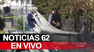Una persona muere luego de que una avioneta se estrellara en Pacoima – Noticias 62 - Thumbnail