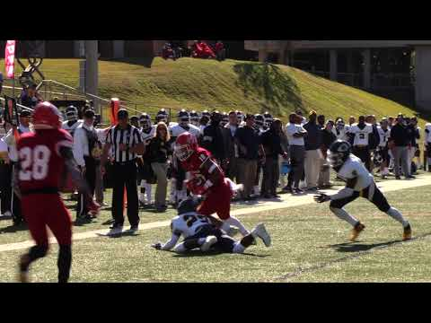 UWA Football vs Mississippi College Highlights