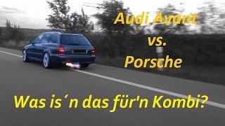 Was is´n das für'n Kombi? Audi RS4 Avant vs.Porsche 911 Carrera