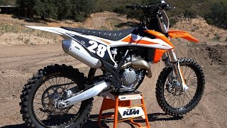 3. First Ride 2019 KTM 250SXF - Motocross Action Magazine