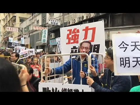Το Χονγκ Κονγκ διαδηλώνει για τους εξαφανισμένους εκδότες