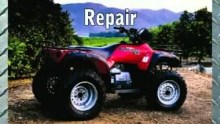 10. Clymer Manuals Honda TRX450 Foreman Maintenance Troubleshooting Shop TRX Manual ATV 4 wheeler