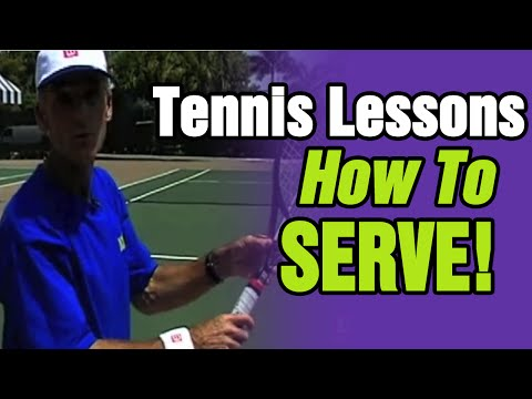 Tennis Lessons – How To Serve In Tennis by TomAveryTennis.com