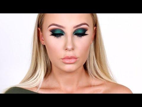 FOREST GREEN SMOKEY EYE / Fenty Beauty Review | Lauren Curtis