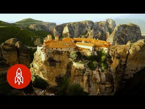 High Up in the Greek Monasteries of Meteora