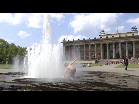 Hitzewelle in Deutschland: Erfrischung willkommen!