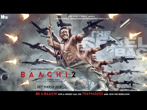 Baaghi 2 Official Trailer | Out Now | Tiger Shroff And Disha Patani | (Tiger Shroff Lover)