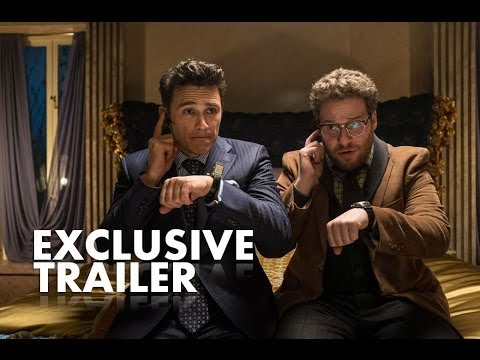 Theaters - In the action-comedy The Interview, Dave Skylark (James Franco) and his producer Aaron Rapoport (Seth Rogen) run the popular celebrity tabloid TV show