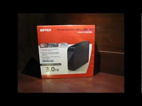 Review of the Buffalo DriveStation Axis USB 3.0 3TB External Hard Drive