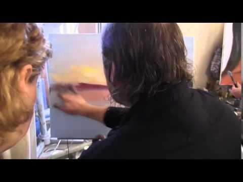 уроки живописи маслом видео: