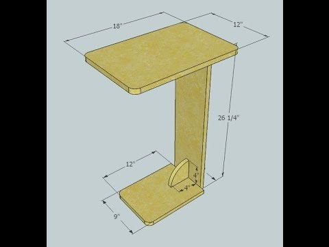 Sofa Table – Kreg jig project