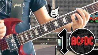 Video Top 10 Riffs: AC/DC   *Dedicated To Malcolm Young* MP3, 3GP, MP4, WEBM, AVI, FLV Oktober 2018