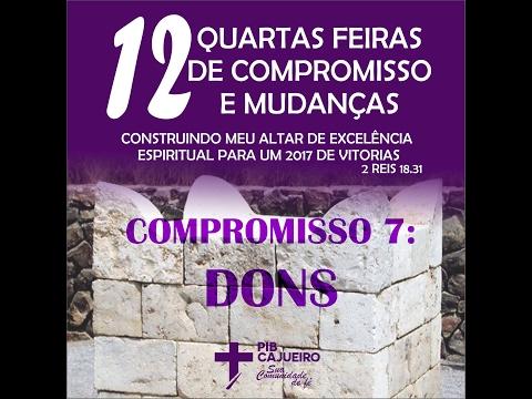 CULTO DE ORAÇÃO PIBC Quarta-Feira 15/02/17