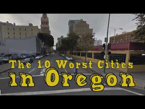 The 10 Worst Cities In Oregon Explained