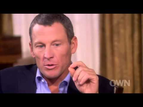 Lance Armstrong's Oprah Winfrey Interview: Having To Tell His Son The Truth