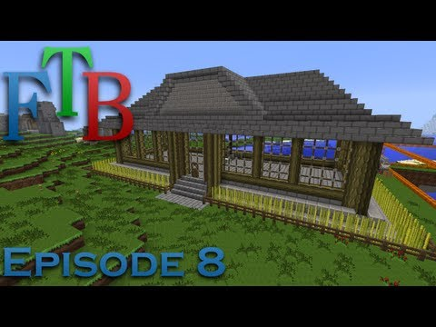 Let's Play Feed the Beast Episode 8