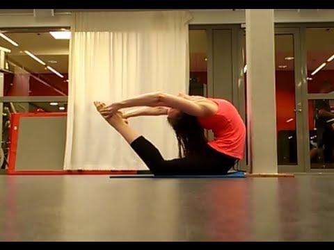 My balance & flexibility training