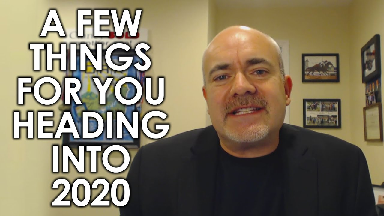 Three Things I Want to Tell You Before the End of 2019