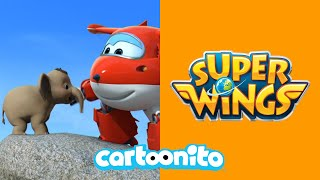 Video Super Wings | Elephant Rescue | Cartoonito MP3, 3GP, MP4, WEBM, AVI, FLV Juni 2017