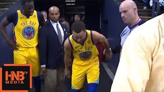 Stephen Curry Injury / GS Warriors vs Spurs