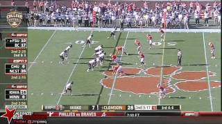 Vic Beasley vs Wake Forest (2013)