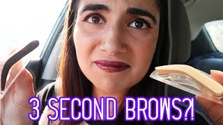 """I tested out the facebook and instagram-viral """"3-Second Eyebrow Stamps""""! What do you guys think? Would you try this hack product for yer brows? PS - watch until the end if you might want a pair of clear jeans!This video is NOT sponsored!There have been many other videos about this product! Check out some of my faves below:Tati: https://www.youtube.com/watch?v=ovRDBDFtEpYLaura Lee: https://www.youtube.com/watch?v=wCHZF-OHT-EManny MUA: https://www.youtube.com/watch?v=k4BwvHzt7U0I got the stamp kit from their website: https://www.3secondbrow.com/Don't forget to click the bell to turn on post notifications!Safiya's Nextbeat: https://nextbeat.co/u/safiyaIG: https://www.instagram.com/safiyany/Twitter: https://twitter.com/safiyajnFacebook: https://www.facebook.com/safnygaard/MUSICMind The GapBusy ShoppingMoment JoyeuxGypsy SailorCavalcadeRomani ReggaeMon CheriBargain HuntersVia Audio NetworkSFXvia AudioBlocks"""