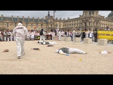 Γαλλία: Τα μέλη του εγκληματολογικού διαμαρτύρονται