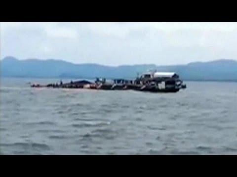 Ναυτική τραγωδία στις Φιλιππίνες