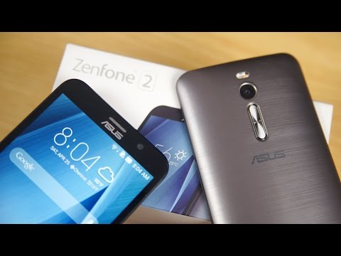 ASUS Zenfone 2 (4GB RAM - ZE551ML) - Unboxing & Hands On