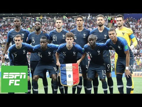 Who was France's best player during their 2018 World Cup title? | ESPN FC (видео)